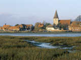 Harbour and Church  Bosham  West Sussex  England  United Kingdom