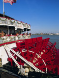 Paddle Steamer 'Natchez' on the Mississippi River  New Orleans  Louisiana  USA
