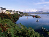 Fishing Port  Roundstone Village  Connemara  County Galway  Connacht  Eire (Ireland)