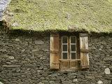 Detail of House Near Bielsa  Huesca  Aragon  Spain