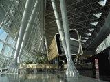 Departure Lounge  Zurich Airport  Switzerland