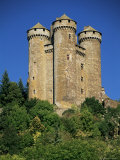 Chateau of Tournemire  Cantal  Auvergne  France