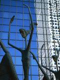 Ballet Sculpture  16th Street Mall  Denver  Colorado  USA