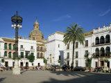 Main Square  Carmona  Seville Area  Andalucia  Spain