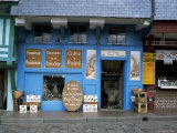 Calvados and Cider Shop by Vieux Bassin in Quai Ste Catherine  Honfleur  Basse Normandie  France