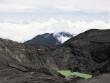 Third Crater from the Summit of Irazu  Highest in Costa Rica at 3432M  Last Erupted 1994  Cartago
