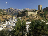 Village of La Cazorla  Jaen  Andalucia  Spain