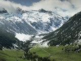 Val d'Aran in the Pyrenees Near Viella  Catalonia  Spain