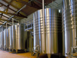 Wine Fermentation Tanks  Chateau Comtesse De Lalande  Pauillac  Gironde  France