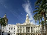 The Town Hall  Cadiz  Andalucia  Spain