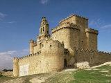 View of Castle  Turegano  Segovia Province  Castile Leon  Spain