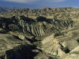 Landscape Near Almeria  Andalucia  Spain
