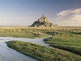 Mont St Michel  Unesco World Heritage Site  Basse Normandie  France