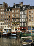 Vieux Bassin (Old Port)  Honfleur  Normandy  France
