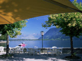View of the Lake from Cafe  Zell Am See  Austria