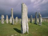 Callanish Standing Stones  Isle of Lewis  Outer Hebrides  Western Isles  Scotland
