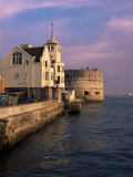 Round Tower  Old Portsmouth  Portsmouth  Hampshire  England  United Kingdom
