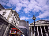 Bank of England and the Royal Exchange  City of London  London  England  United Kingdom