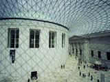 The Great Court  British Museum  England  United Kingdom