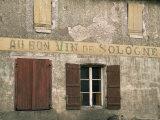 Village of Jouey Le Potier  Loiret  Loire  Centre  France