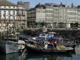 Harbour  La Coruna  Galicia  Spain