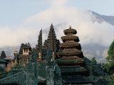 Hindu Temple of Besakih  Island of Bali  Indonesia  Southeast Asia