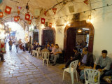 Cafe Maure  Medina  Tunis  Tunisia  North Africa  Africa