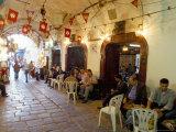Cafe Maure  Medina  Tunis  Tunisia  North Africa  Africa