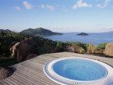 Chateau De Feuilles  Anse De Marie Louise  South Coast  Island of Praslin  Seychelles