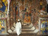 Ura Kedane Meheriet Church  Zege Peninsula  Lake Tana  Gondar Region  Ethiopia  Africa