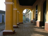 Arcades of the Maison Romantique  Town of Trinidad  Unesco World Heritage Site  Cuba