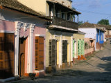 Houses on a Street in the Colonial City  Town of Trinidad  Unesco World Heritage Site  Cuba