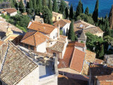 Village of Roquebrune-Cap-Martin  Alpes Maritimes  Cote d'Azur  Provence  France