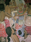 Painting in the Puri Lusikan Museum  Ubud  Island of Bali  Indonesia  Southeast Asia