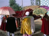 Palm Sunday Procession  Axoum (Axum) (Aksum)  Tigre Region  Ethiopia  Africa