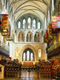 The Choir and Banners  St Patrick's Catholic Cathedral  Dublin  County Dublin  Eire (Ireland)