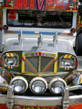 Jeepney  Manila  Island of Luzon  Philippines  Southeast Asia
