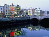 Aston Quay  Liffey River  Dublin  County Dublin  Eire (Ireland)