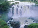 The Blue Nile Falls  Near Lake Tana  Gondar Region  Ethiopia  Africa