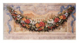 Fresco with Floral Garland