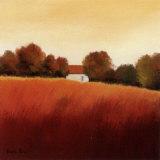 Scarlet Landscape IV