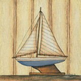 Pinstripe Sailboat