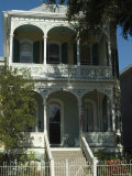 Historic District  Galveston  Texas  USA