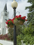 Historic District  Mackinac Island  Michigan  USA
