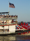 Sternwheeler on the Mississippi River  New Orleans  Louisiana  USA