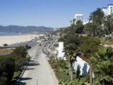 Pacific Coast Highway  Santa Monica  California  USA