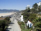 Pacific Coast Highway  Santa Monica  California  USA