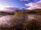 Rannoch Moor  Black Mount  Strathclyde  Scotland  United Kingdom