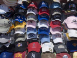Baseball Caps for Sale  Santa Monica Pier  Santa Monica  California  USA