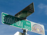 Buddy Holly Avenue  Lubbock  Texas  USA